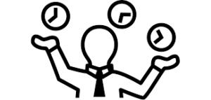 "<img src=""jugglingtime.png"" alt=""man juggling clocks/time"">"