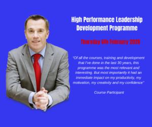 Mark Donovan's High Performance Leadership Programme