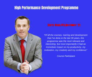 Mark Donovan's High Performance Development Programme